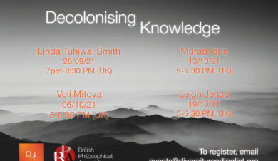 Decolonising Knowledge poster